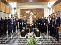 استقبال مسوولان و کارکنان بانک مسکن از نوروز