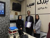 تقدیر از  پذیرنده برتر پایانه های فروشگاهی بانک مسکن درغرب تهران