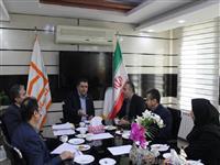 مدیران بانک مسکن استان کردستان بهزیستی استان با یکدیگر دیدار کردند