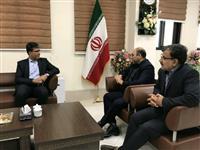 دیدار مدیر شعب بانک مسکن با مدیرکل دیوان محاسبات استان سمنان