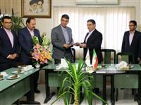 دیدار مدیر شعب بانک مسکن استان خراسان شمالی با مدیر کل بنیاد مسکن