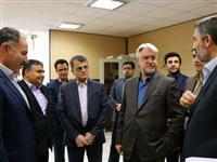 بازدید مدیرعامل بانک مسکن از مناطق زلزله زده ی کرمانشاه