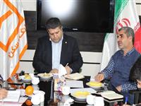 مدیر شعب استان کردستان با مدیر کل بنیاد مسکن دیدار کرد