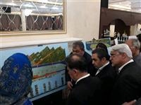 بازدید وزیر راه و شهرسازی از طرح های برتر معماری پروژه ی بازآفرینی تبریز