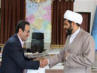 نشست بانک مسکن با مدیر کل تبلیغات اسلامی استان کردستان