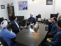 نشست مشترک مدیر شعب گلستان و نماینده ولی فقیه در امور اهل تسنن استان