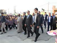 توزیع بیش از 300 بسته کامل لوازم التحریر میان دانش آموزان دبستان شهدای بانک مسکن تنگستان