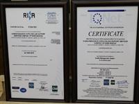 اخذ گواهینامه استاندارد توسط شرکت تامین نیروی انسانی بانک مسکن