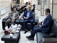 نشست مدیر شعب استان با مدیرکل اداره راهداری و حمل و نقل جاده ای استان یزد
