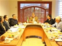نشست هماهنگی با انجمن انبوه سازان استان مازندران