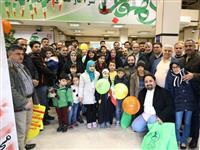 حضور پرشور کارکنان بانک مسکن در راهپیمایی 22 بهمن