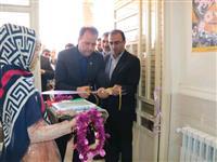 افتتاح آموزشگاه شهدای بانک مسکن در شهرستان سرپل ذهاب