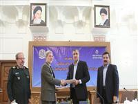 امضای تفاهم نامه وزارت راه و شهرسازی و وزارت دفاع و پشتیبانی(گزارش تصویری)