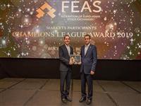 کسب نشان برنز توسط کارگزاری بانک مسکن در رویداد «FEAS 2019»