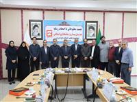 نشست مطبوعاتی مدیر شعب بانک مسکن استان مازندران