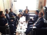 دیدار مدیر شعب استان مازندران با شهردار آمل