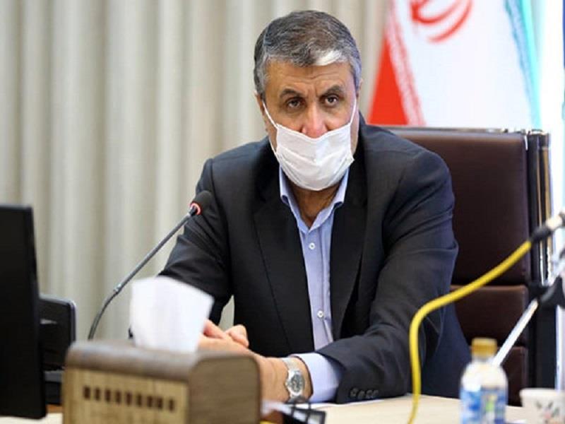 بازدید وزیر راه از خبرگزاری ایرنا