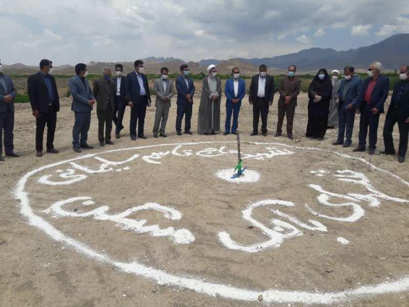 کلنگ احداث مدرسه شهید سردار سلیمانی