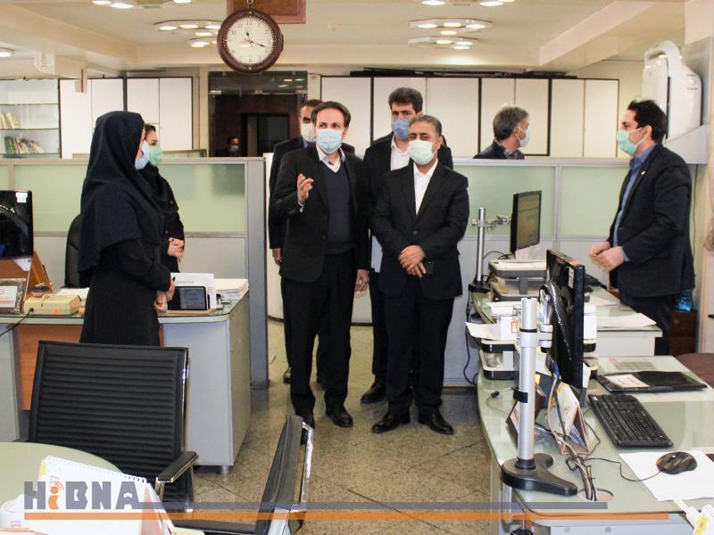 بازدید مدیرعامل بانک مسکن از شعب شرق تهران(گزارش تصویری)